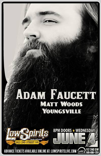 Adam Faucett, Matt Woods and Youngsville rock Lowspirits
