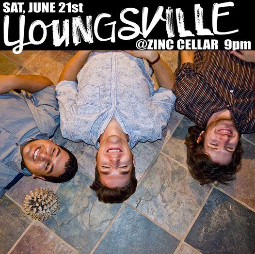 Youngsville at Zinc Cellar Bar June 21st 2014, 9pm