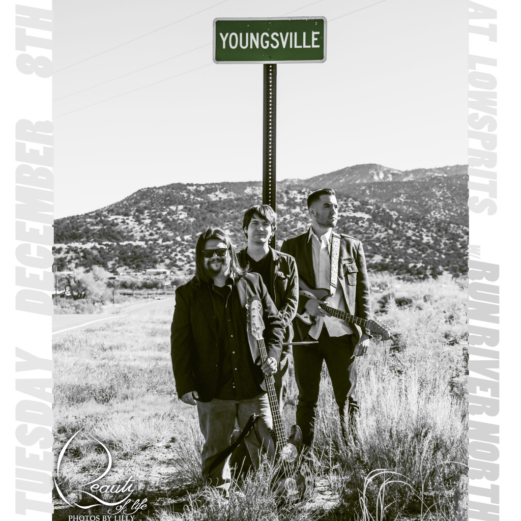 The band Youngsville will play their brand of indie and rock n' roll music at Low Spirits in Albuquerque, NM. Opening for National Touring Band: Run River North