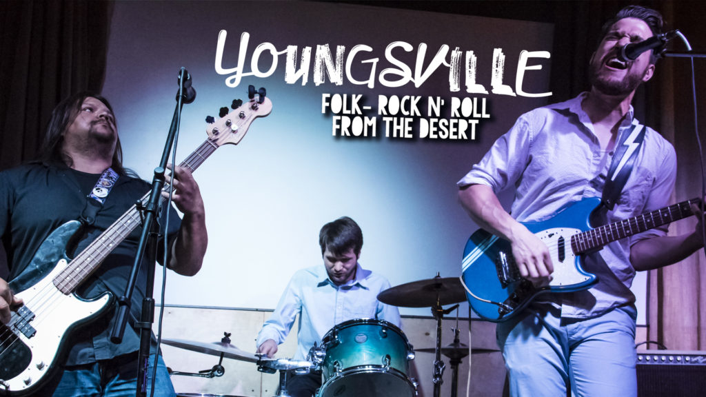 Youngsville play as a Trio to Lucky Lounge in Austin, TX