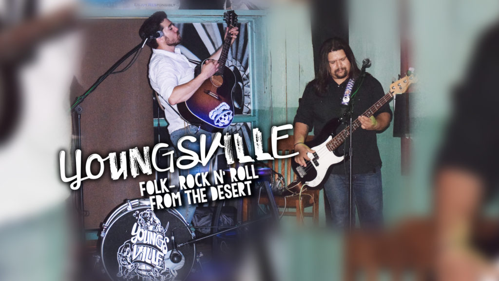 Youngsville return as a Rock n' Roll Duo to I Don't Know Bar in San Marcos, TX.